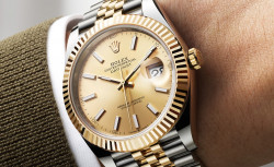 Why the Rolex Date-Just 41MM Makes a Partner for Life