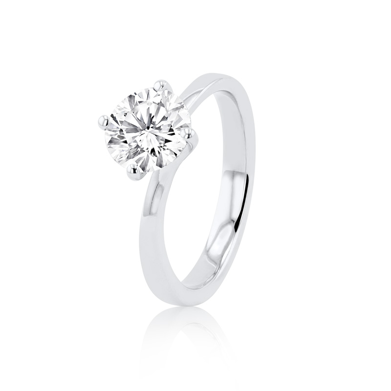 Amelia Collection Platinum & Diamond Ring - 1.45ct