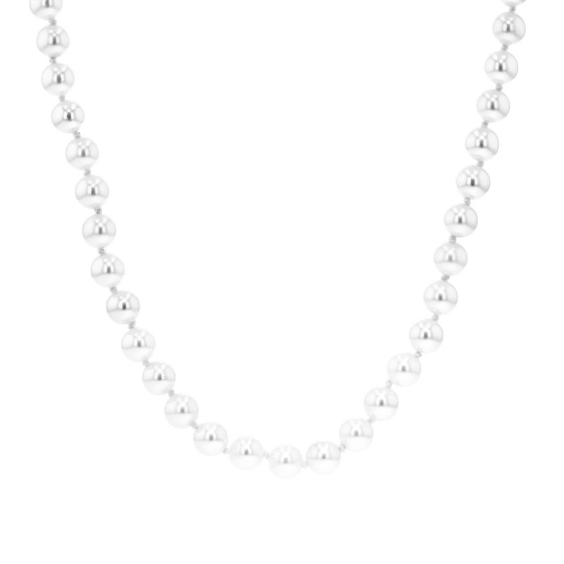 9ct Yellow Gold 5.5-6mm Cultured Pearl Necklace - 18""