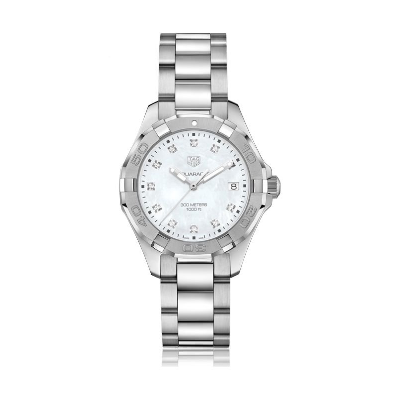 TAG Heuer Aquaracer Collection Mother-of-Pearl Dial Watch - 35mm