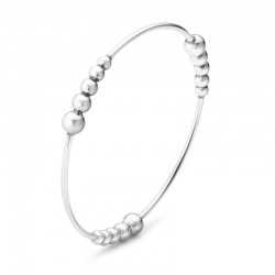 Georg Jensen Moonlight Grapes Round Bangle