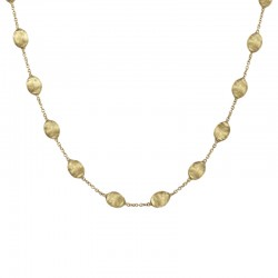 Marco Bicego 18ct Gold Siviglia Necklace -16""