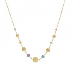 Marco Bicego 18ct Yellow & Gemstone Africa Necklet