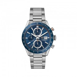 TAG Heuer Gents Carrera Automatic Chronograph Blue Dial Watch