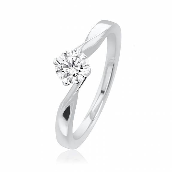 Platinum Lois Collection Diamond Ring - 0.50ct