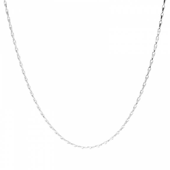 Silver Hayseed Link Chain - 18""