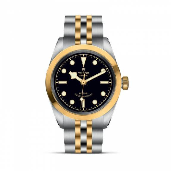 TUDOR Black Bay S & G Black Dial Watch - 32mm