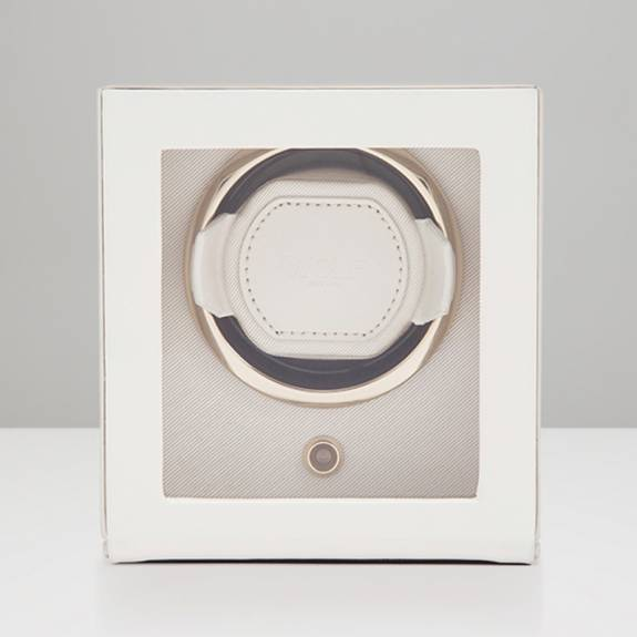 Single Chloe Collection Cream Watch Winder Box